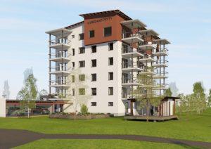 Virrantähden rakentamispäätös tehty (kuvia)